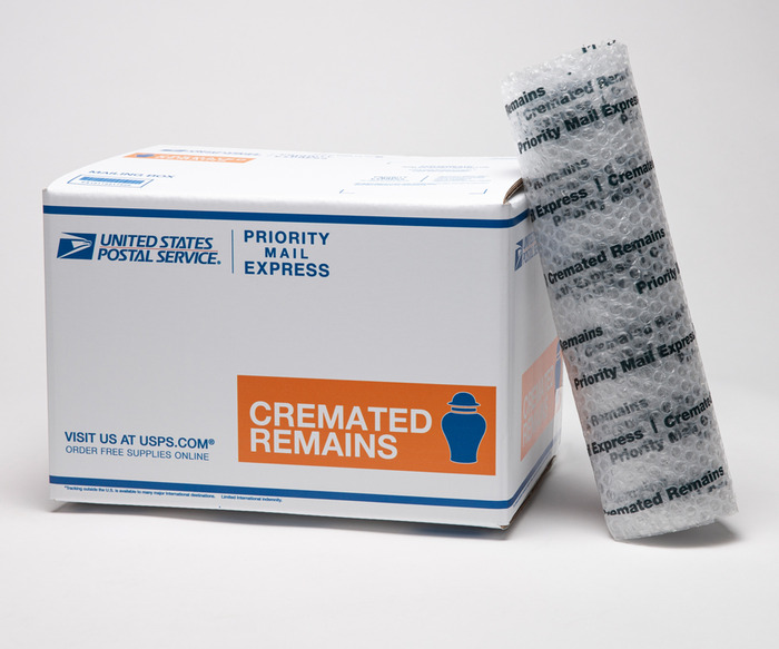 US POSTAL SERVICE UPDATES CREMATED REMAINS SHIPPING GUIDELINES